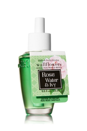 ESSÊNCIA Bath & Body Works Wallflowers Difusor Elétrico Aromatizador de Ambiente Refil Bulb Rose Water & Ivy