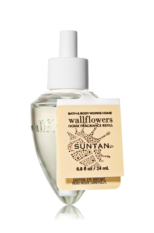 ESSÊNCIA Bath & Body Works Wallflowers Difusor Elétrico Aromatizador de Ambiente Refil Bulb Suntan