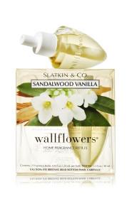 ESSÊNCIA Bath Body Works Wallflowers Home Fragrance Refills Sandalwood Vanilla