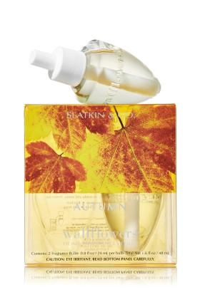 ESSÊNCIA Bath Body Works White Barn Home Wallflowers 2 Pack Refills Autumn