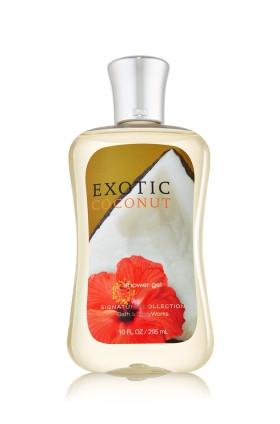 Exotic Coconut Shower Gel Bath & Body Works