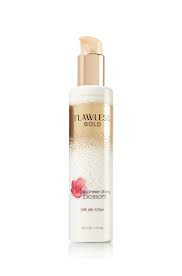 Japanese Cherry Blossom Flawless Gold 24K Silk Lotion Bath & Body Works