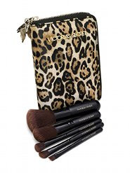 Kit Pincéis Travel Brush Set Onça Victoria's Secret