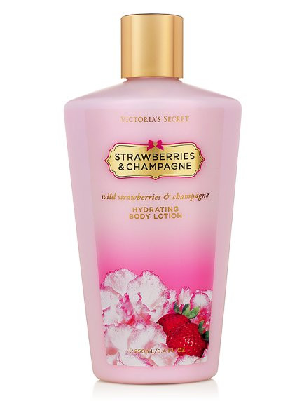 Loção Hidratante Corporal Strawberries and Champagne 250ml