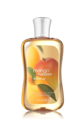 Mango Mandarin Shower Gel Bath & Body Works