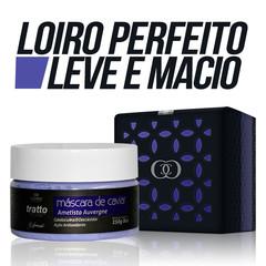 Máscara de Caviar & Ametista 250g Tratto - Loiras e Descoloridas Cosmezi