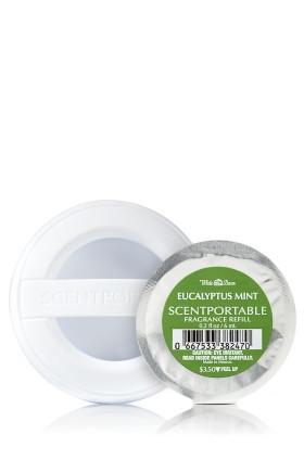 Refill de Aparelho Aromatizador para carro Scentportable Bath Body Works Eucalyptus Mint