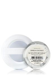 Refill de Aparelho Aromatizador para carro Scentportable Bath & Body Works Vanilla Coconut