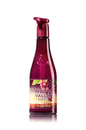 Sabonete Decorative Hand Soap Bath & Body Works Napa Valley Sunset