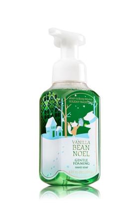 Sabonete Espuma de sabão Anti-Bacterial Gentle Foaming Hand Soap Bath & Body Works Vanilla Bean Noel