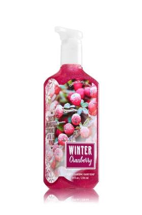Sabonete Limpeza Profunda Bath & Body Works Deep Cleansing Hand Soap Winter Cranberry