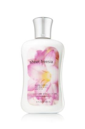 Sheer Freesia Body Lotion Bath & Body Works
