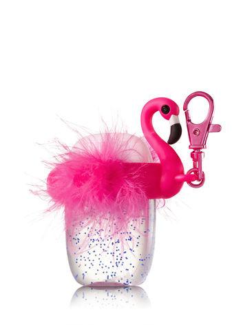 Suporte para Álcool Gel Bath & Body Works Accessories Pocketbac Holder Flamingo Band