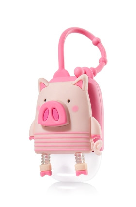 Suporte para Álcool Gel Bath & Body Works Accessories Pocketbac Holder Pig
