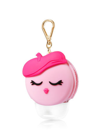 Suporte para Álcool Gel Bath & Body Works Accessories Pocketbac Holder Pink Macaroon