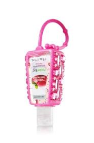 Suporte para Álcool Gel Bath & Body Works Accessories Pocketbac Holder Pink Rhinestone