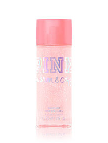 Warm & Cozy Shimmer Body Mist PINK