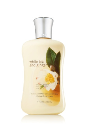 White Tea & Ginger Body Lotion Bath & Body Works