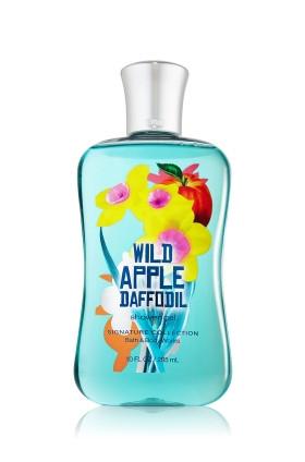 Wild Apple Daffodil Shower Gel Bath & Body Works