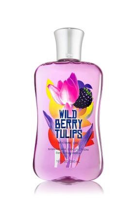 Wild Berry Tulips Shower Gel Bath & Body Works