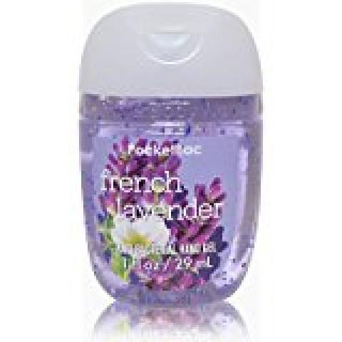 Anti-Bacterial Pocketbac Sanitizing Hand Gel Bath & Body French Lavender