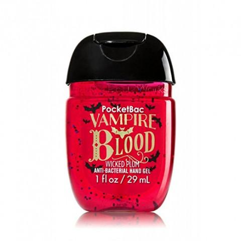 AntiBacterial Pocketbac Sanitizing Hand Gel Bath Body Vampire Blood Wicked Plum