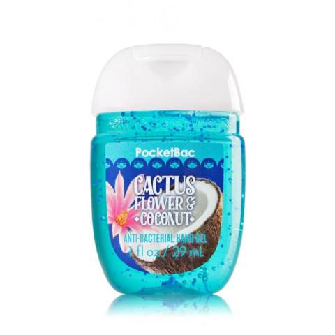Anti-Bacterial Pocketbac Sanitizing Hand Gel Bath & Body Works Cactus Flower & Coconut