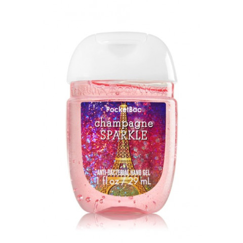 Anti-Bacterial Pocketbac Sanitizing Hand Gel Bath & Body Works Champagne Sparkle