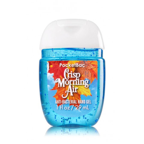 Anti-Bacterial Pocketbac Sanitizing Hand Gel Bath & Body Works Crisp Morning Air