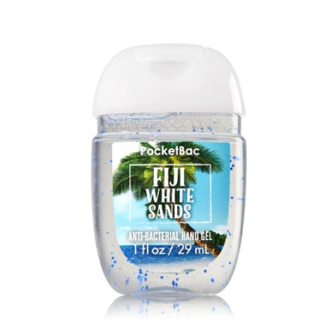 Anti-Bacterial Pocketbac Sanitizing Hand Gel Bath & Body Works Fiji White Sands