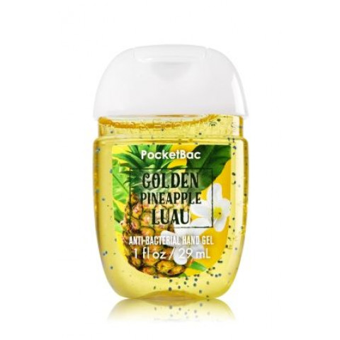 Anti-Bacterial Pocketbac Sanitizing Hand Gel Bath & Body Works Golden Pineapple Luau