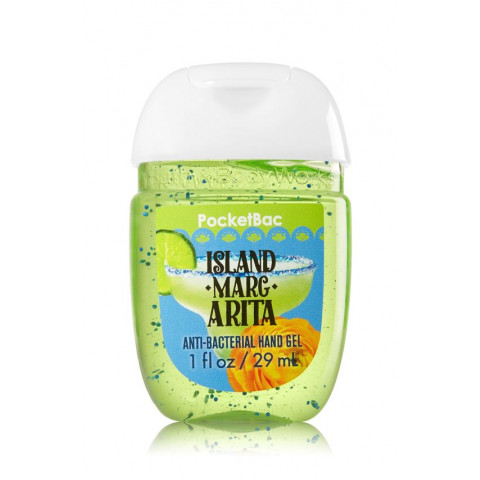 AntiBacterial Pocketbac Sanitizing Hand Gel Bath Body Works Island Margarita