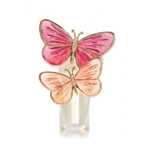 Aparelho Elétrico Aromatizador de Ambiente Bath & Body Works Wallflowers Plug Pink Butterflies Nightlight