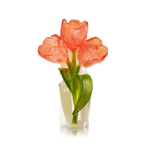 Aparelho Elétrico Aromatizador de Ambiente Bath & Body Works Wallflowers Plug Pink Tulip Nightlight