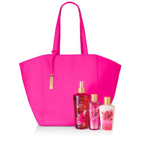 Bolsa Pink Grande em couro Fosco Victoria's Secret (Não acompanha produtos)