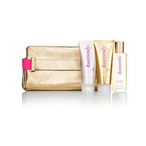 Clutch Dourada Heavenly Victoria's Secret (Não acompanha produtos)