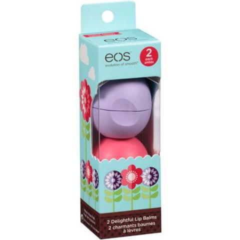 Eos Delightful Lip Balms 2 count