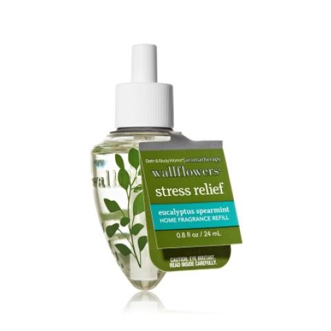 ESSÊNCIA Bath Body Works Single Wallflowers Refill Aromatherapy Stress Relief Eucalyptus Spearmint