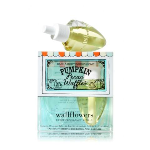 ESSÊNCIA Bath Body Works Wallflowers 2 Pack Refills Pumpkin Pecan Waffles
