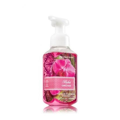 Sabonete Espuma de sabão Anti-Bacterial Gentle Foaming Bath & Body Works Aloha Orchid