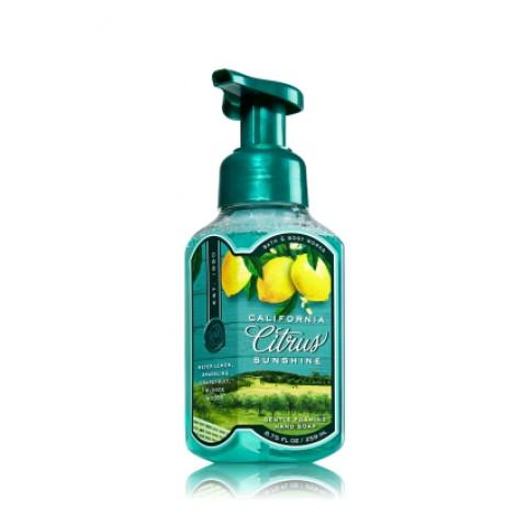 Sabonete Espuma de sabão Anti-Bacterial Gentle Foaming Bath & Body Works California Citrus Sunshine