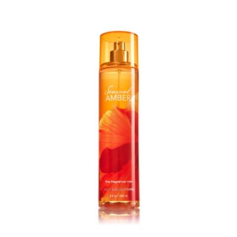 Sensual Amber Fine Fragrance Mist Colônia Splash