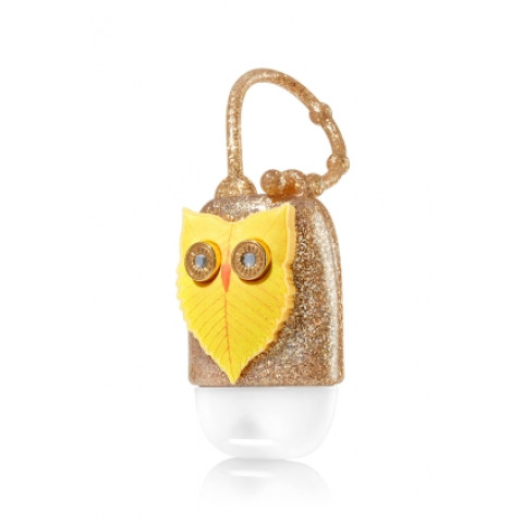 Suporte para Álcool Gel Bath & Body Works Accessories Pocketbac Holder Leafy Owl