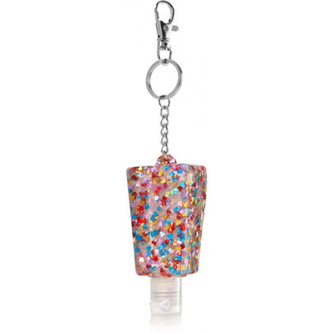 Suporte para Álcool Gel Bath & Body Works Accessories Pocketbac Holder Multicolor Glitter