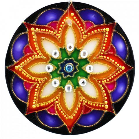 1201- Mandala Floral -14 CM