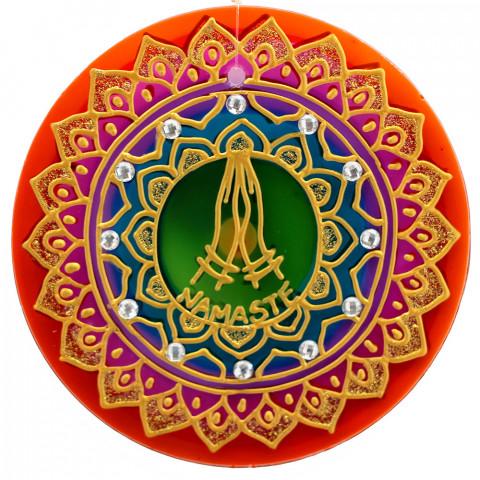 1213-Mandala Namastê-14cm