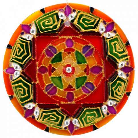 1439 - MANDALA YANTRA - 30 CM