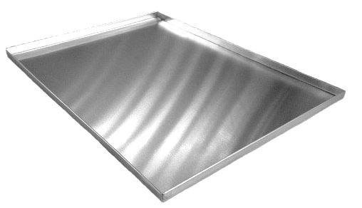 Assadeira para pão de queijo 35x35x2 cm (Aluminio 1,0 mm) Exclusivo para forno Ferri