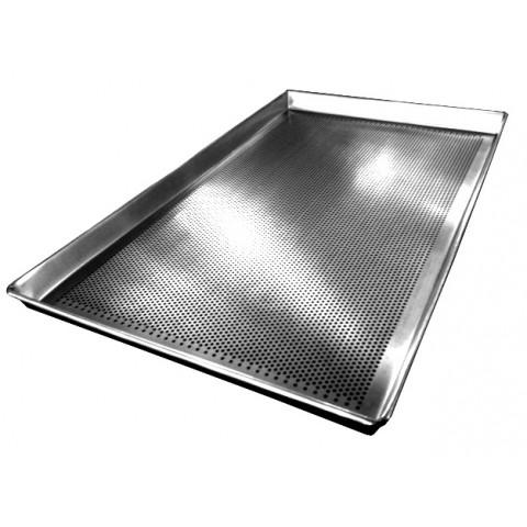Assadeira modelo VIPÃO perfurada 40x80x3,5 cm (Alumínio 1,0 mm)