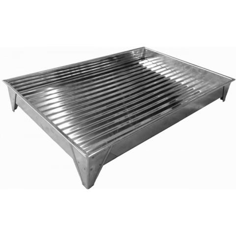 Copeira/ Escorredor para balcões e pias 40x45 cm (Inox) com pé